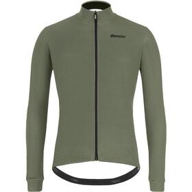 Santini Colore Gravel L/S Jersey Men, groen